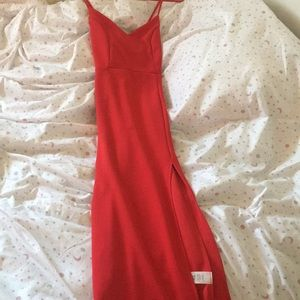 red long dress can be worn to any special occasion